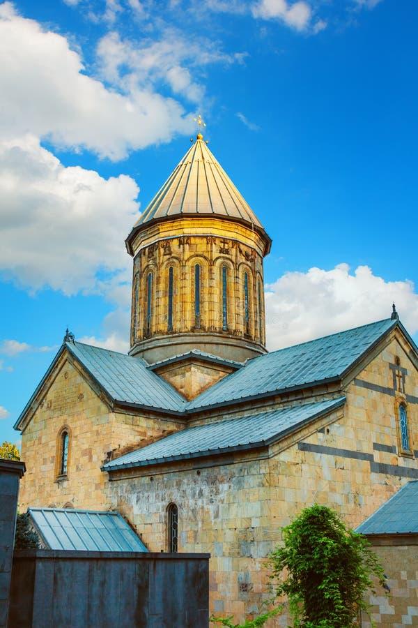 De Sioni-Kathedraal van Dormition is een Georgische Orthodoxe kathedraal in Tbilisi Het land van Georgië royalty-vrije stock foto