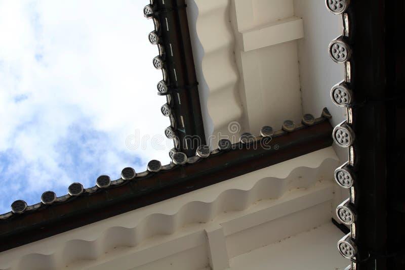 De situatie rond Kanazawa-Kasteel in Ishikawa-Prefectuur, loc royalty-vrije stock afbeelding