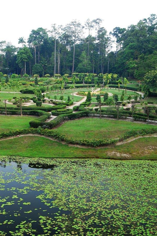 De Sjah Alam van Tamanbotani Negara royalty-vrije stock foto's