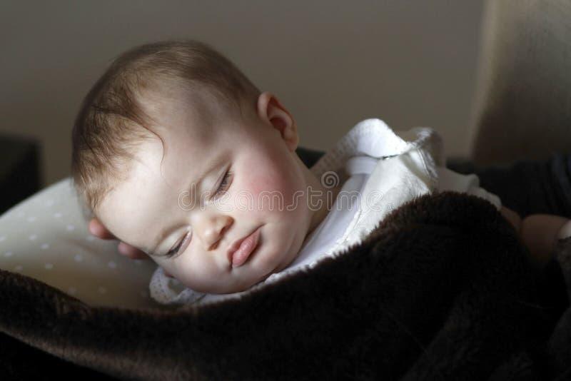 De slaap van de baby royalty-vrije stock foto's
