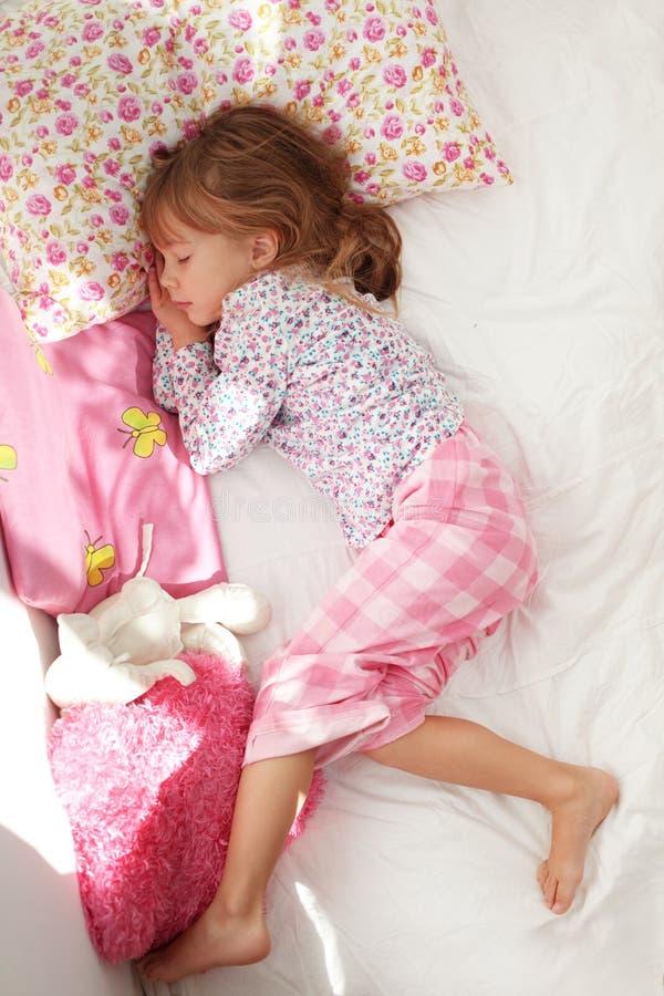 De slaap van het kind royalty-vrije stock foto's