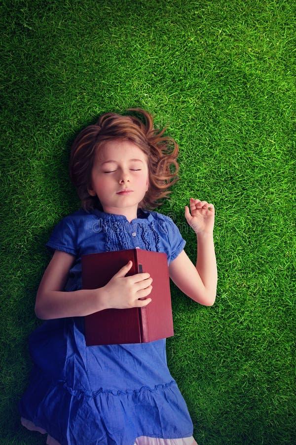 De Slaap van het meisje stock foto's