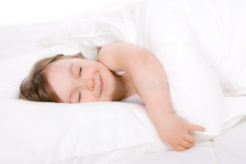 De slaap van het meisje royalty-vrije stock foto's