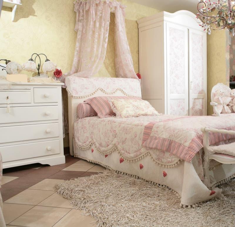 De slaapkamer van de baby royalty-vrije stock foto's