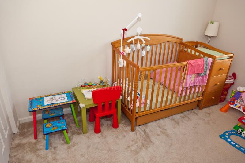 De slaapkamer van het kind royalty-vrije stock fotografie