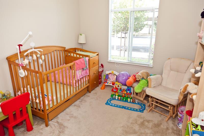 De slaapkamer van het kind royalty-vrije stock foto