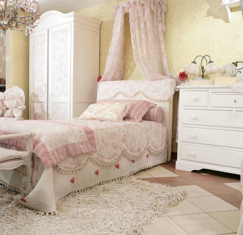 De slaapkamer van het kind royalty-vrije stock afbeelding