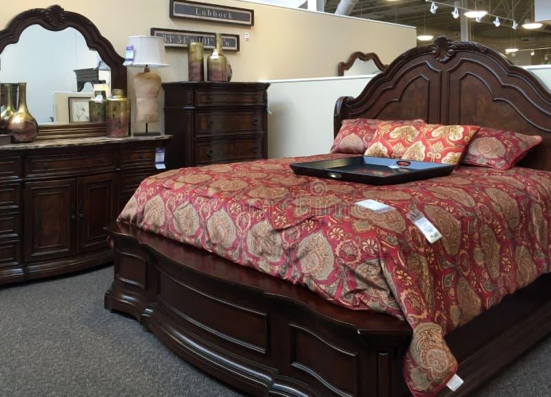 De slaapkamermeubilair van Nice royalty-vrije stock afbeeldingen