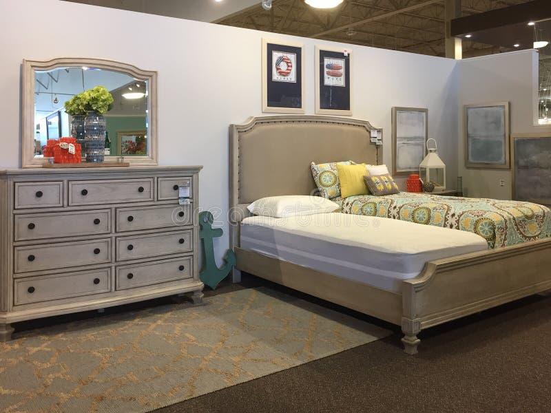 De slaapkamermeubilair van Nice voor verkoop bij markt royalty-vrije stock foto