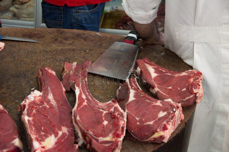 De slagers blokkeren stock foto's