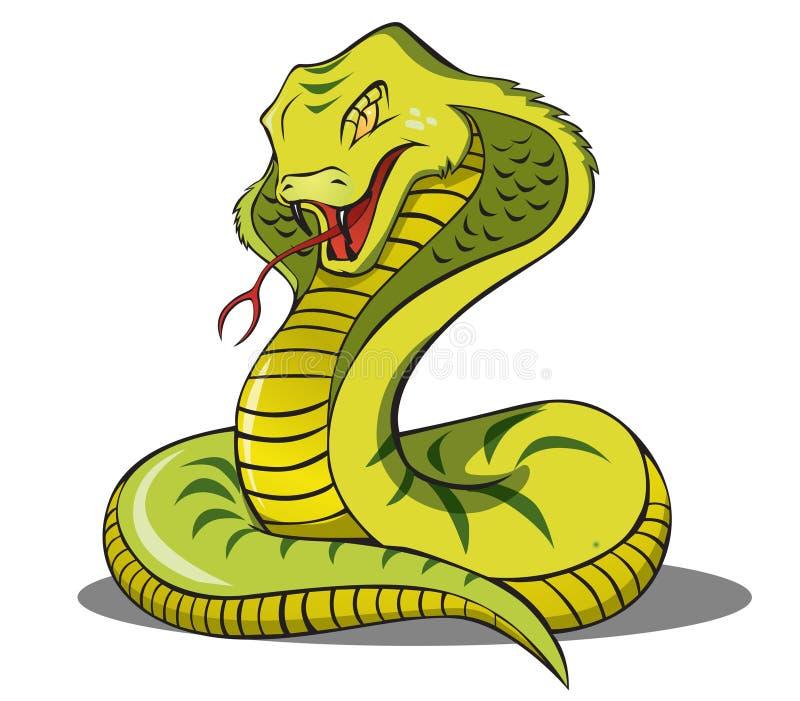 De Slang van de cobra royalty-vrije stock afbeelding
