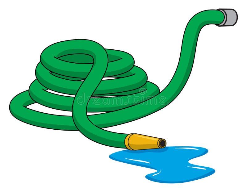 De slang van de tuin royalty-vrije illustratie