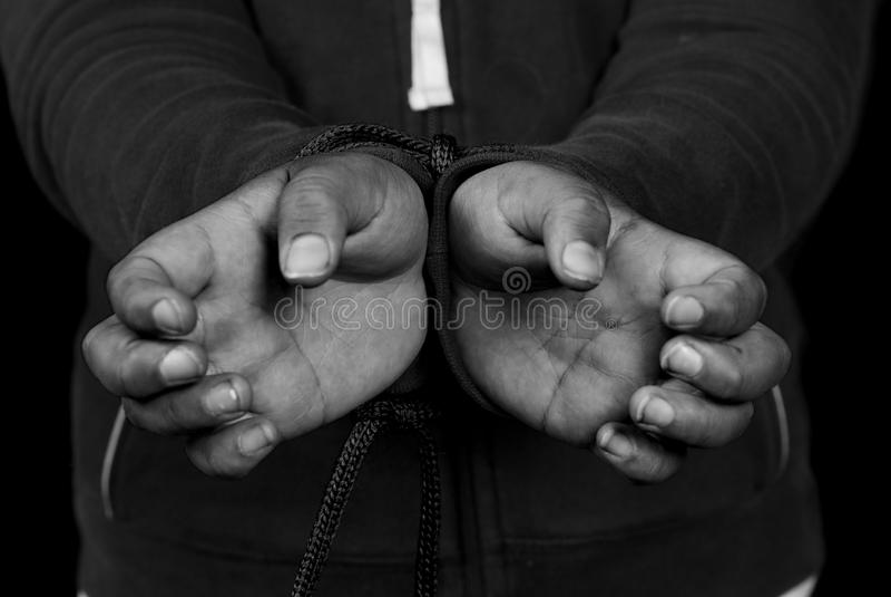 De slavernij stock fotografie