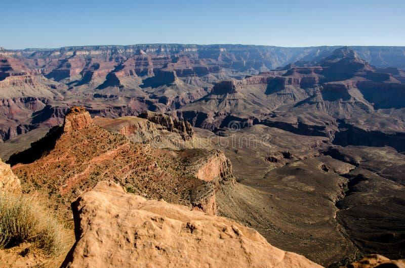 De Sleep Grand Canyon van zuidenkaibab stock fotografie
