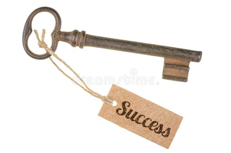De sleutel tot succes stock afbeelding