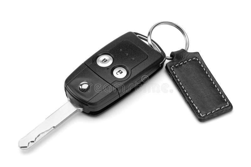 De sleutel van de auto. stock foto's