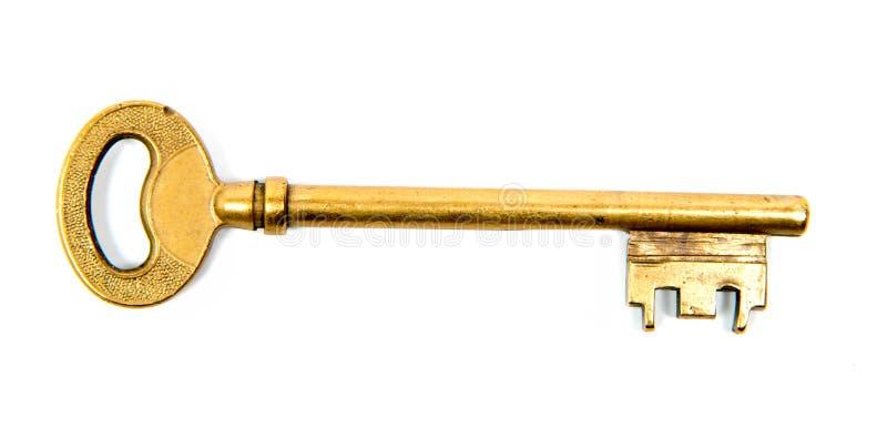 De sleutel van de deur royalty-vrije stock afbeelding