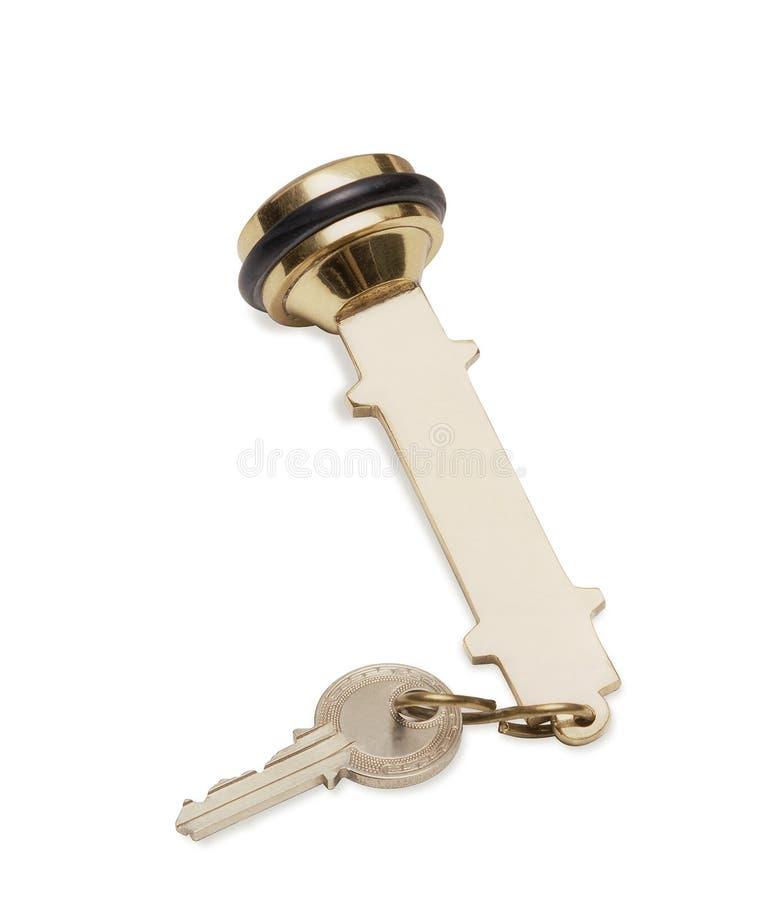 De sleutel van het hotel royalty-vrije stock foto