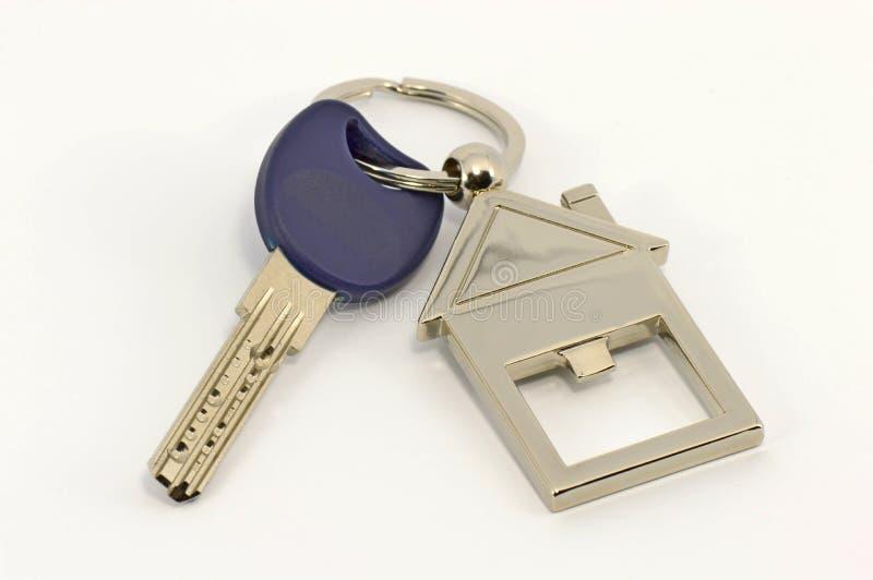 De sleutel van het huis stock fotografie