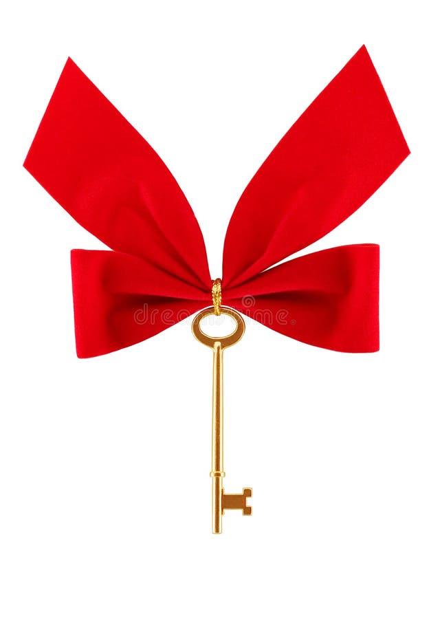 De Sleutel van Kerstmis royalty-vrije stock foto