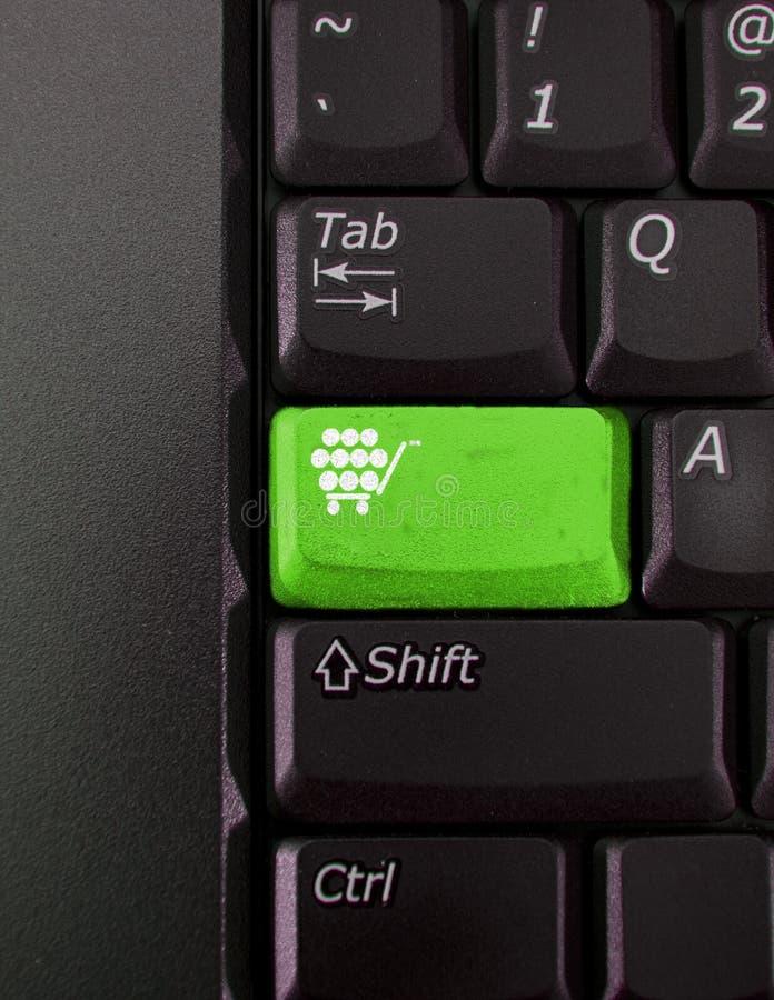 De sleutel van Shoping royalty-vrije stock fotografie