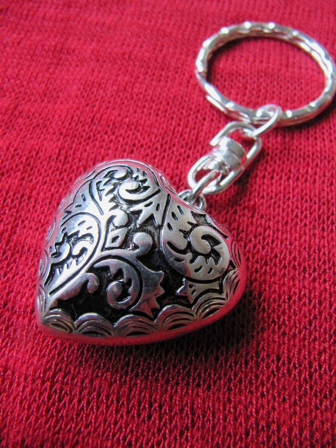 De Sleutelring van het hart stock fotografie