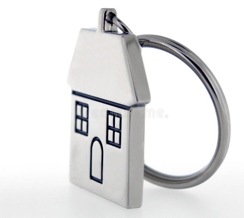 De sleutelring van het huis stock fotografie