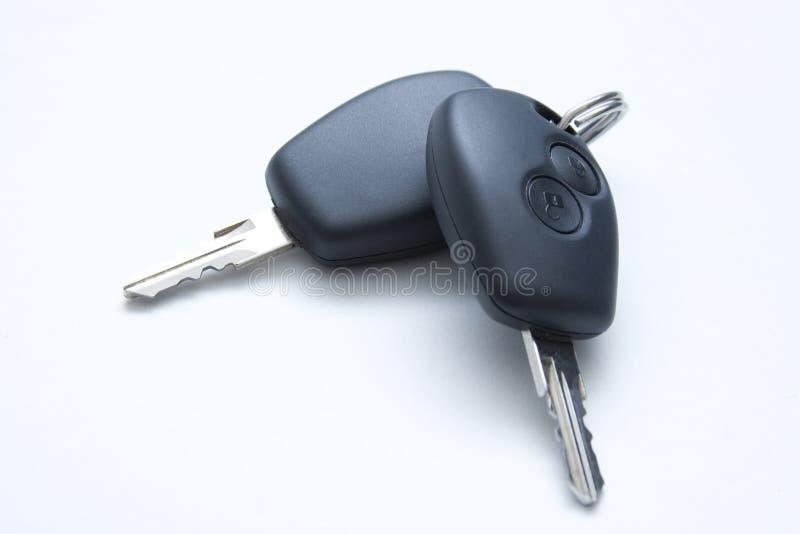 De sleutels van de auto stock afbeelding