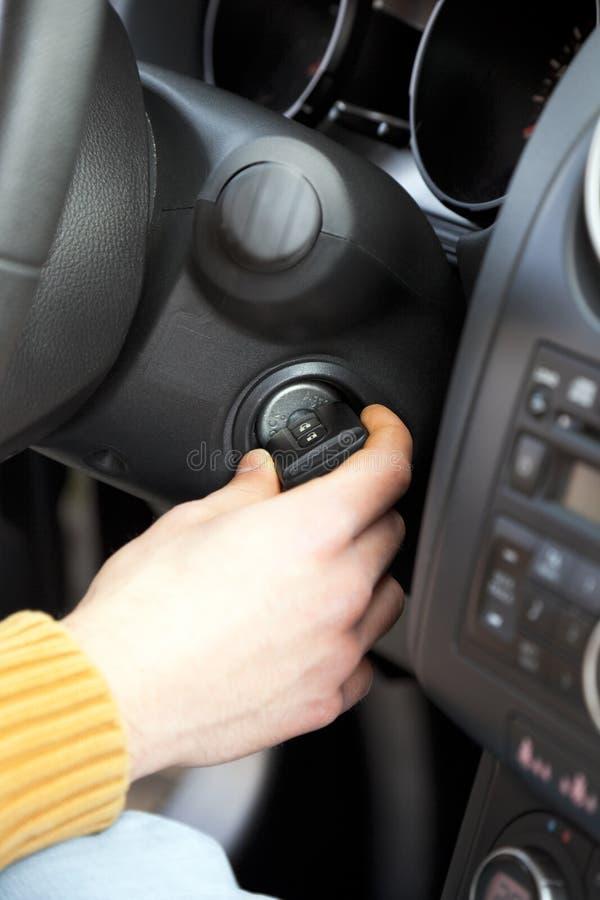 De sleutels van de auto stock afbeeldingen