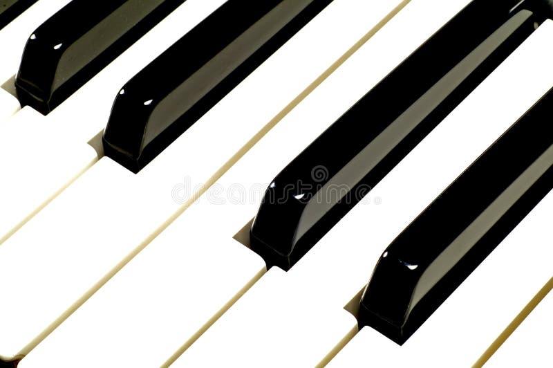 Pianosleutels Gratis Stock Fotografie