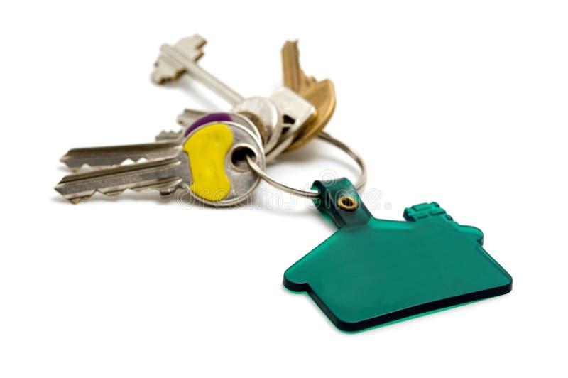 De sleutels van het huis royalty-vrije stock afbeelding