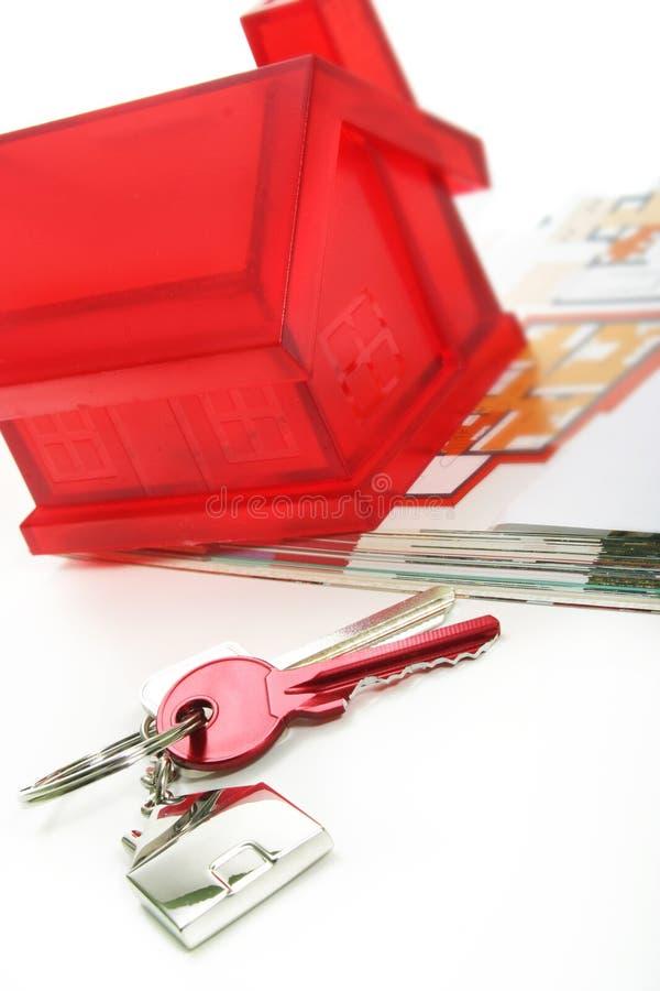 De Sleutels van het huis royalty-vrije stock foto