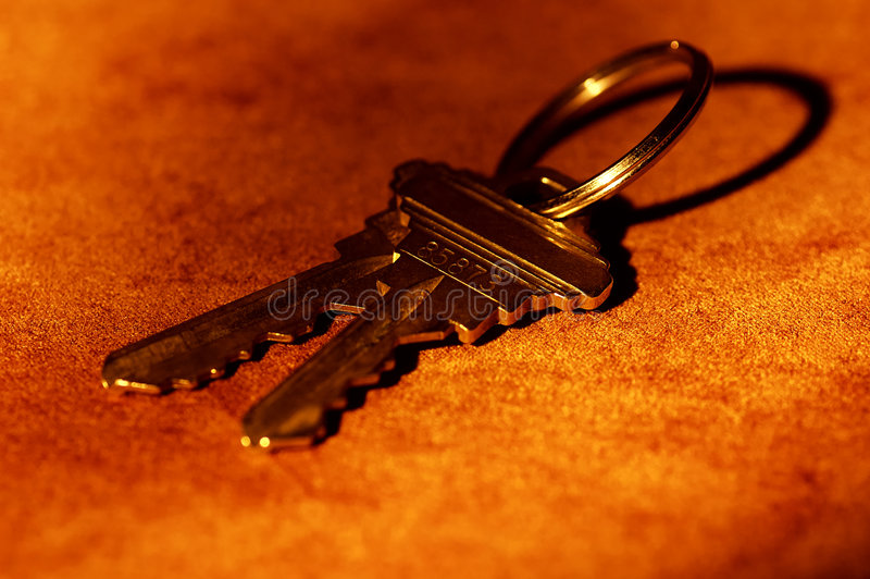 De Sleutels van het huis royalty-vrije stock fotografie