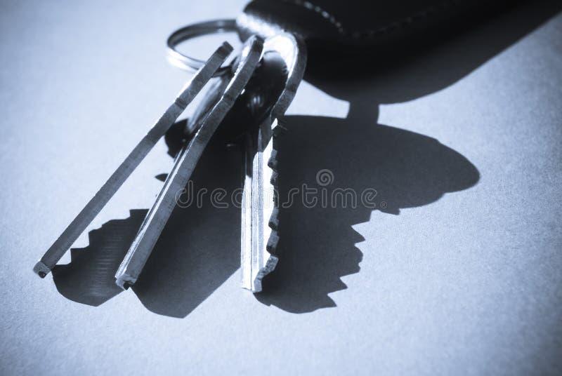 De sleutels van het huis royalty-vrije stock afbeeldingen
