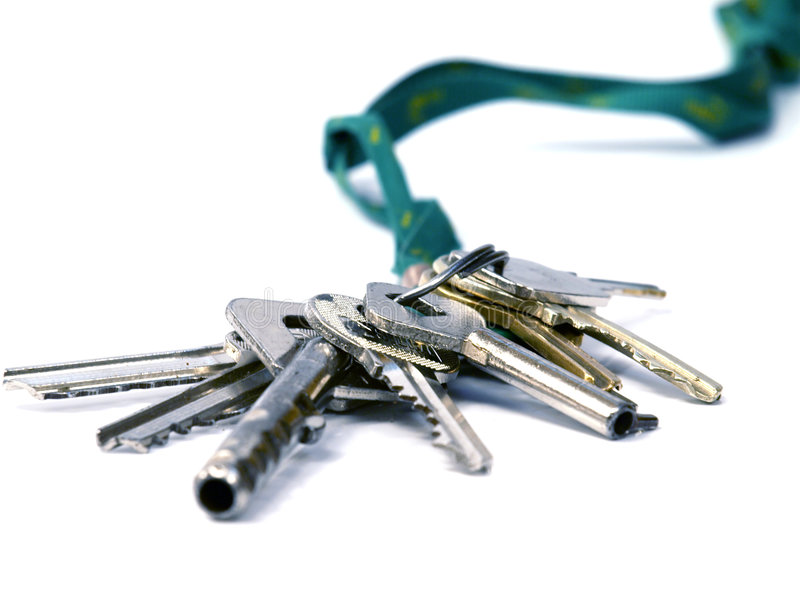 De sleutels van Huse royalty-vrije stock fotografie