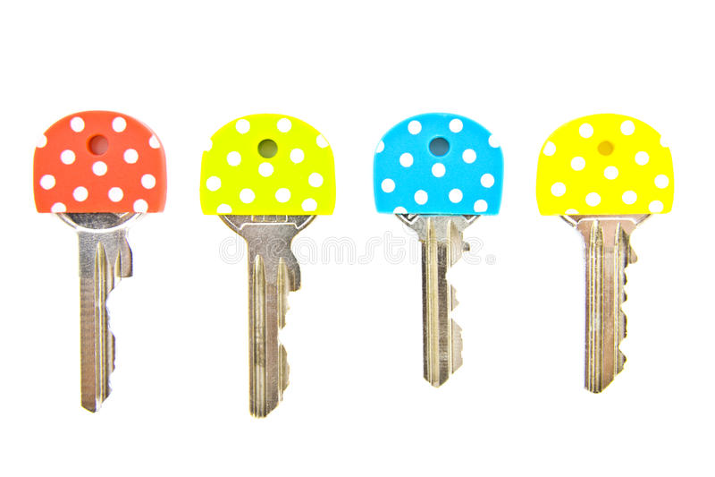 De sleutels van vlekken royalty-vrije stock foto's