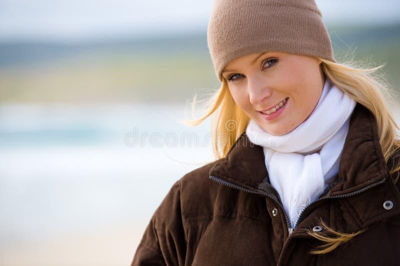 De Slijtage van de winter stock afbeeldingen