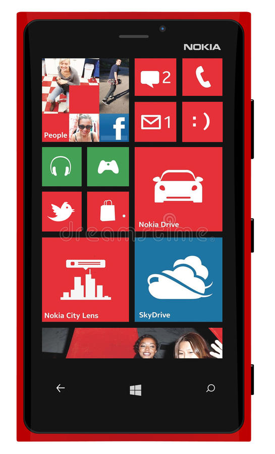 De Slimme Telefoon Lumia 920 van Nokia