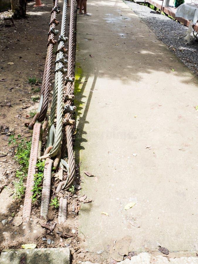 De slinger van de draadkabel stock afbeelding