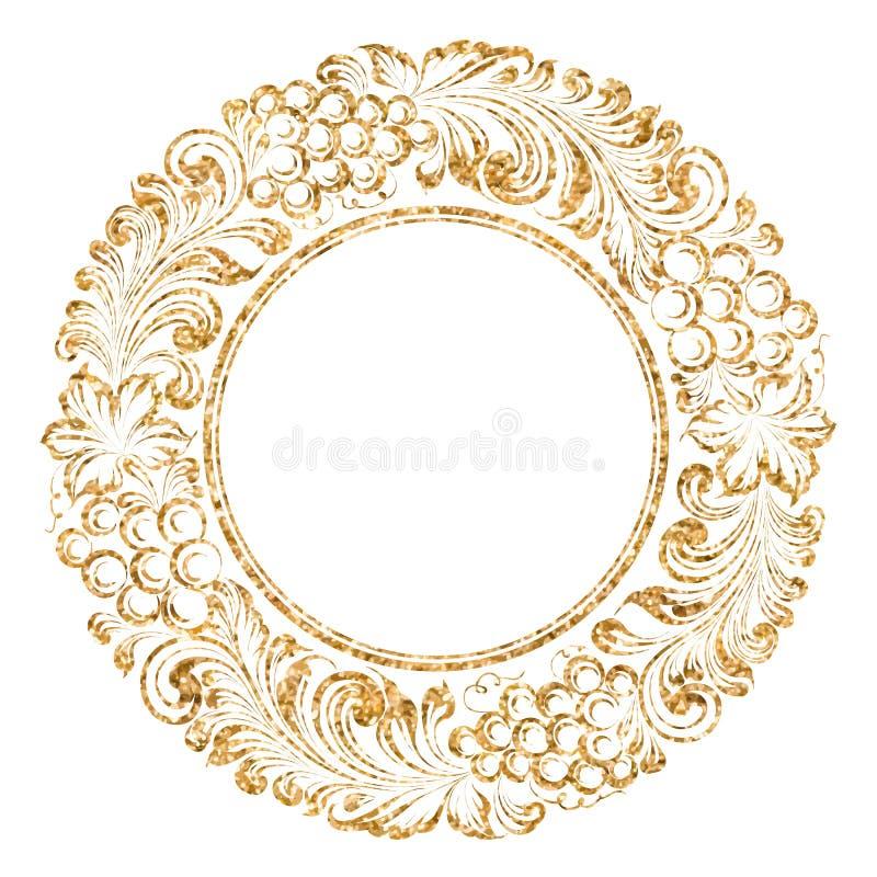 De slinger van de druivencirkel royalty-vrije illustratie