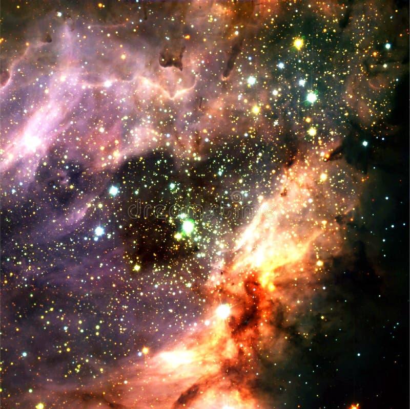 De slordigere 17 Nevel Verbeterde Elementen van het Heelalbeeld van NASA/ESO | Melkweg Achtergrondbehang stock afbeeldingen