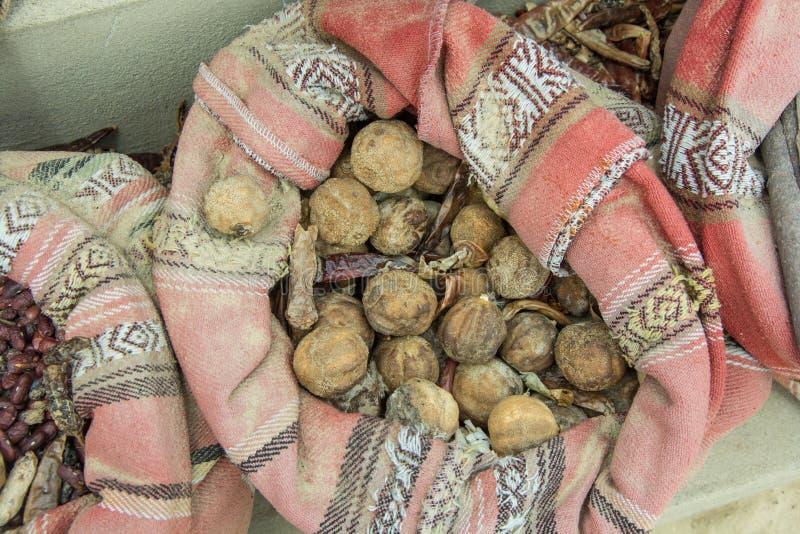 De smaakstoffen in de zak voor verkopen in de Arabische markt royalty-vrije stock foto