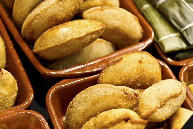 De snack van Spanje: De Pastei van Empanada royalty-vrije stock fotografie