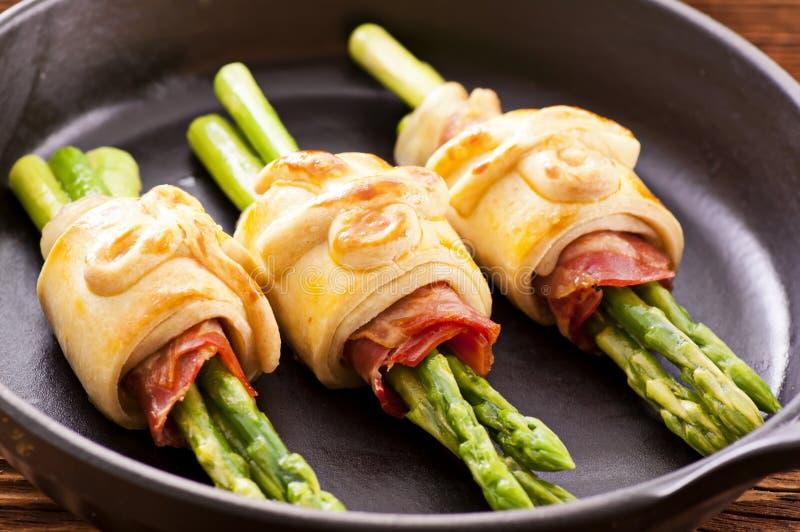 De snacks van de asperge stock foto