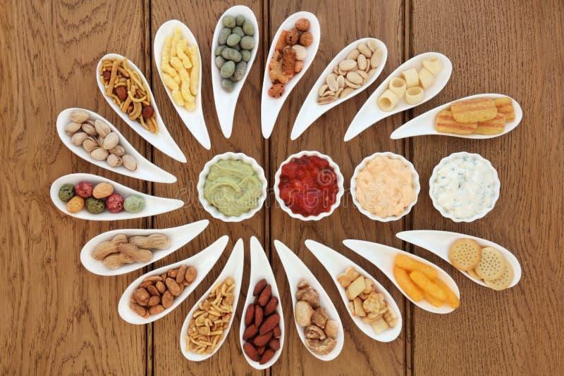 De snacks van de partij royalty-vrije stock foto