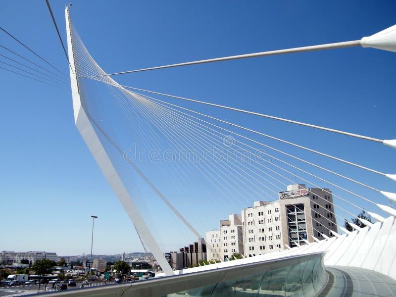 De snaren van Jeruzalem overbruggen 2010 stock foto