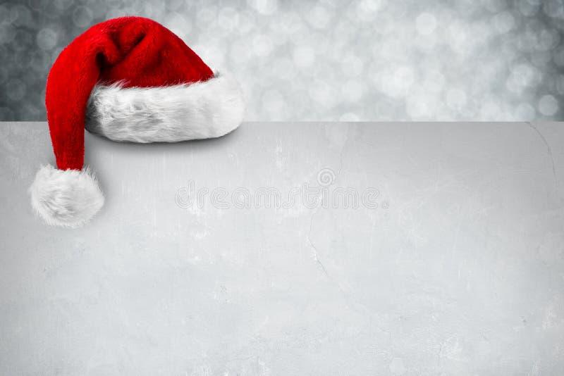 De sneeuw van de KERSTMISkaart stock foto