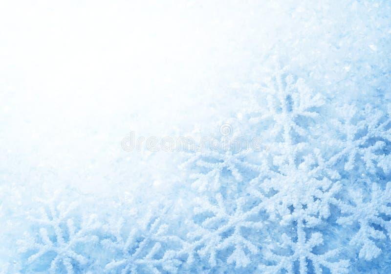 De Sneeuw van de winter stock illustratie