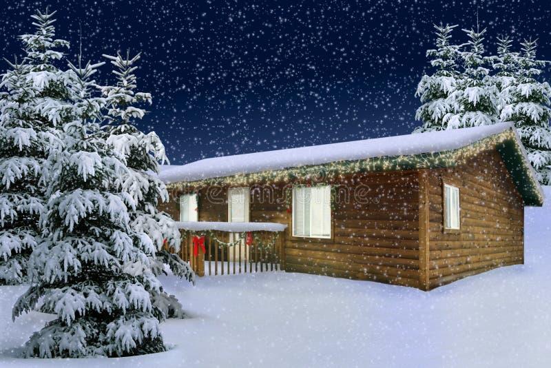 De Sneeuw van de winter royalty-vrije stock fotografie