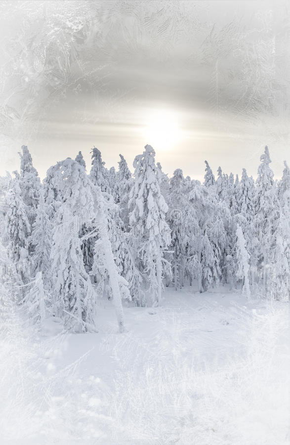 De Sneeuwdag royalty-vrije stock afbeelding